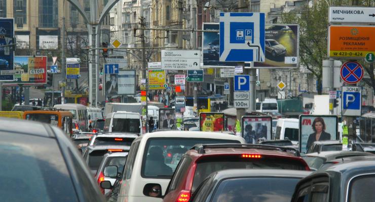 В Яндекс.Пробках продемонстрировали, как меняются киевские заторы в течение дня (видео)