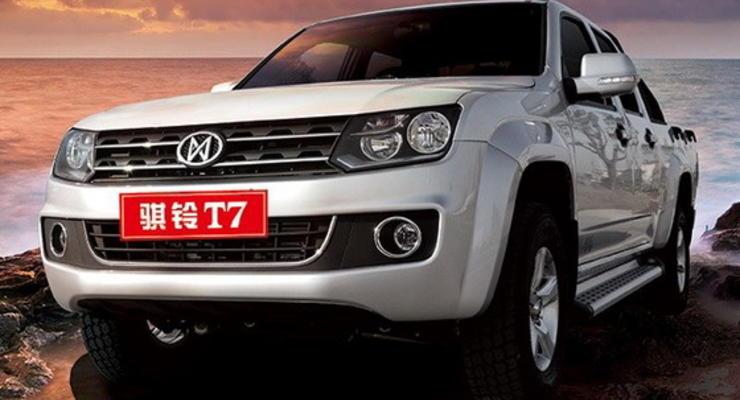 Китайские умельцы создали клон Volkswagen Amarok (фото)