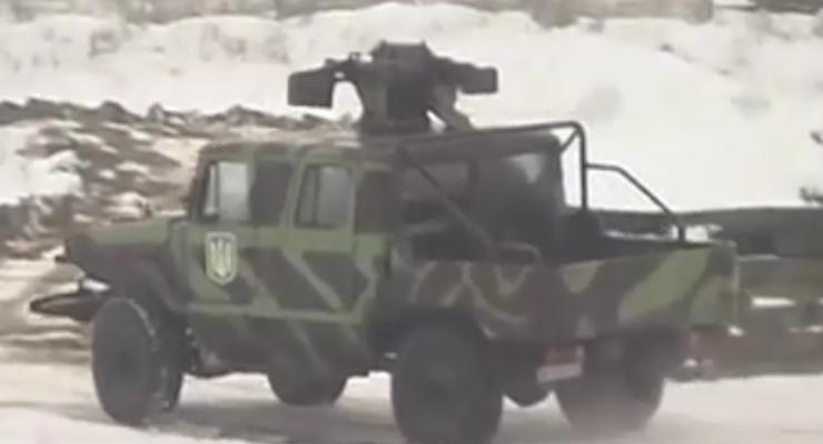 Воевать на Донбассе будет новый украинский броневик Махно (видео)