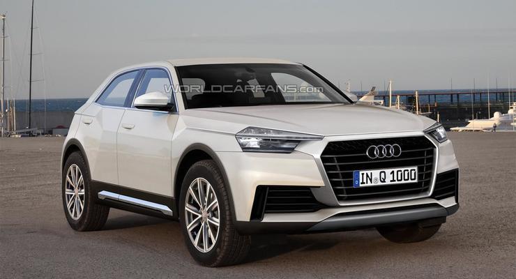 Опубликован первый снимок нового кроссовера Audi