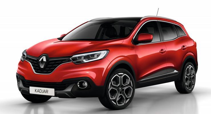 Компания Renault официально представила кроссовер Kadjar (фото)
