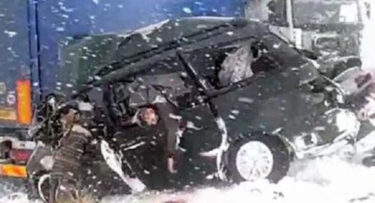 В Казахстане в аварии разбилась украинская семья