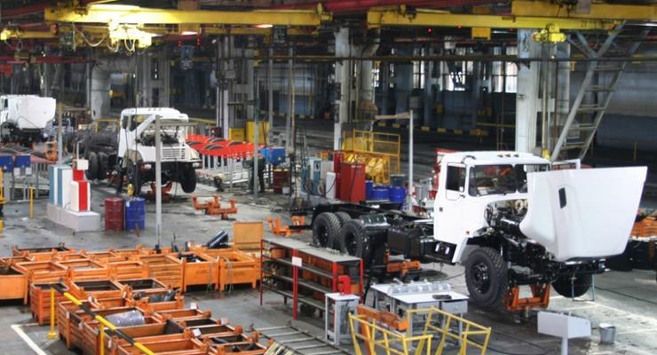 В январе в Украине произвели всего 352 машины