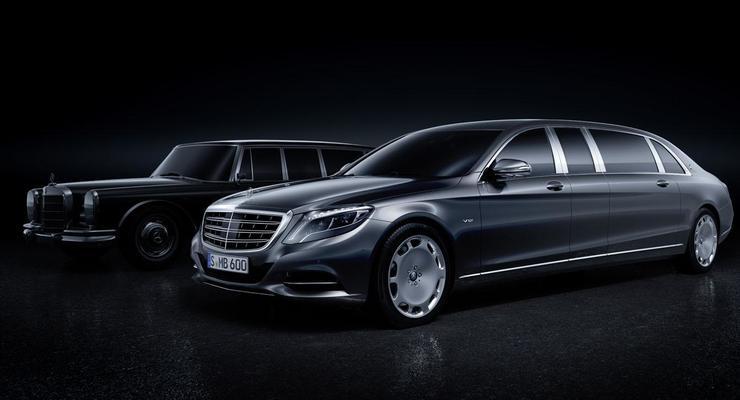 Mercedes рассекретил новый лимузин Pullman (фото)