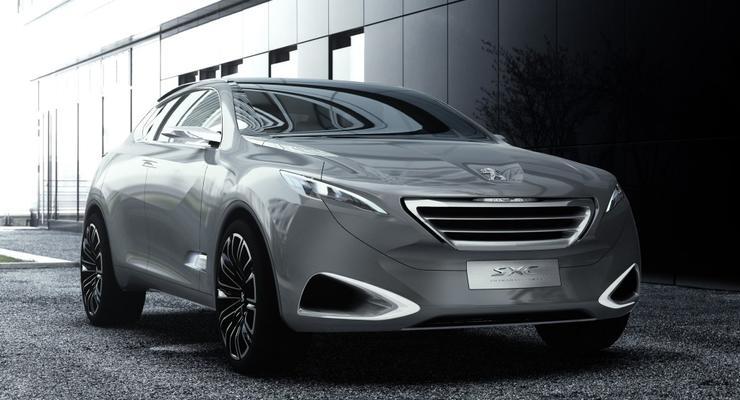 Peugeot анонсировал появление семиместного кроссовера