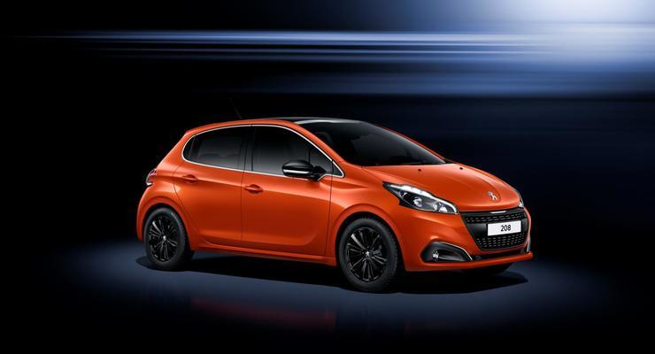 Компания Peugeot обновила хэтчбек 208 (фото)