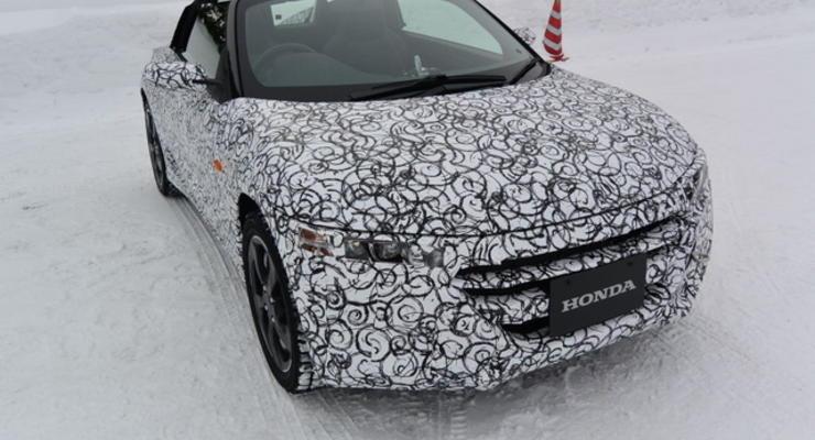 Honda тестирует новый субкомпактный родстер (фото)