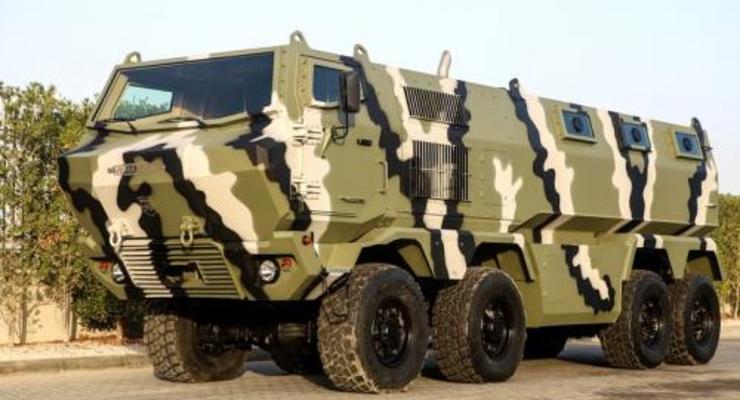КрАЗ представил новый бронеавтомобиль с колесной формулой 8x8