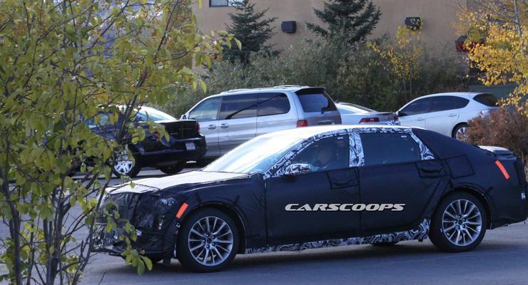 Новый флагманский седан Cadillac показали во время вручения Оскаров (видео)