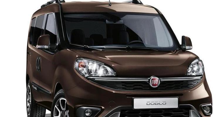 Fiat анонсировал внедорожную версию фургона Doblo