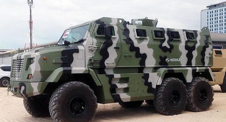 На КрАЗе рассказали подробности о новой бронемашине Feona (видео)