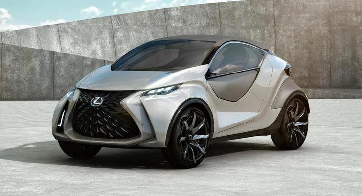 Компания Lexus представила необычный компакткар (фото)