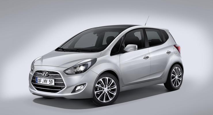 Компания Hyundai представила обновленный компактвэн ix20 (фото)