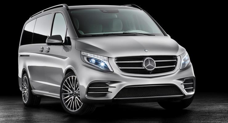Mercedes-Benz презентовал минивэн с расходом 3 литра на сотню (фото)