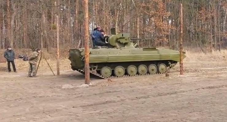 Украинские броневики вооружат Шквалами (видео)