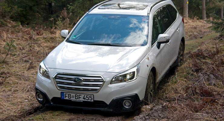 Subaru везет в Украину Outback без системы EyeSight