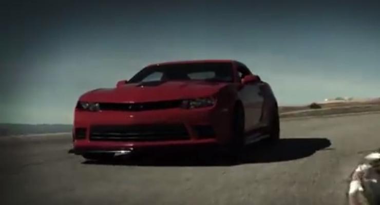 Chevrolet показал новое поколение Camaro (видео)