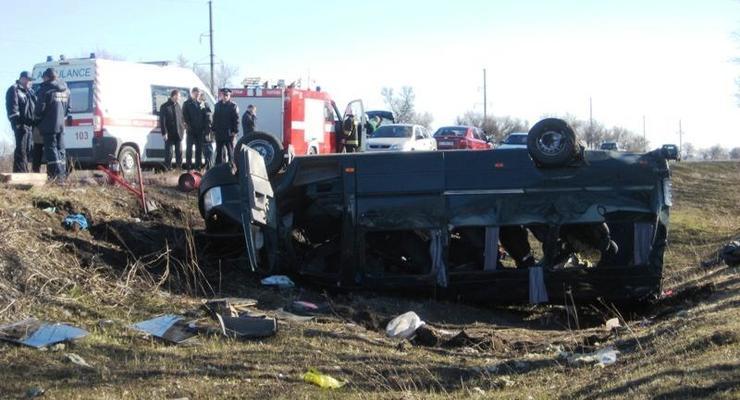 В Полтавской области в автокатастрофе погибли 7 человек