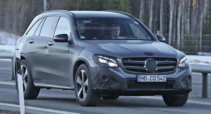 Кроссовер Mercedes-Benz GLC увидели на тестах (фото)