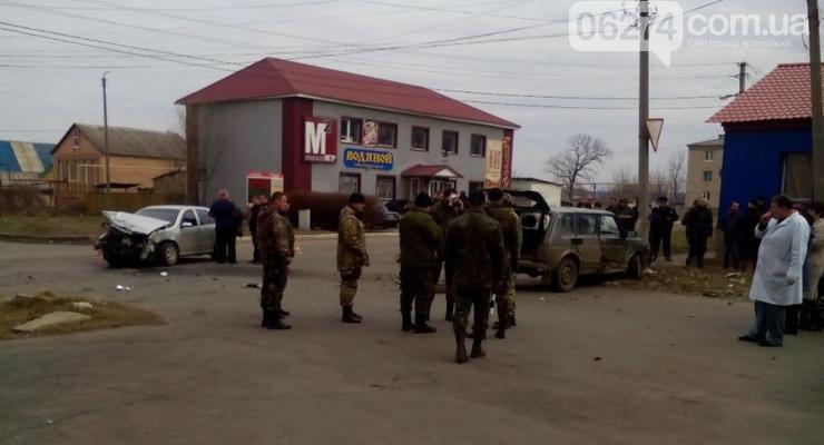 В Донецкой области вновь произошла авария с участием военных