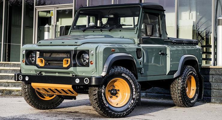 Тюнеры создали заряженный пикап Land Rover Defender (фото)