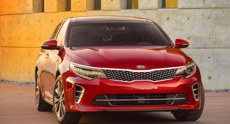 Компания Kia показала новое поколение седана Optima
