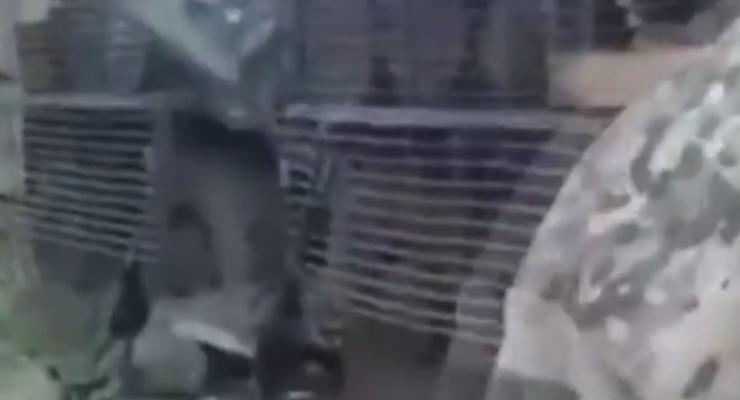 """Экипаж """"секретного танка укров"""" ответил трусливому террористу (видео)"""