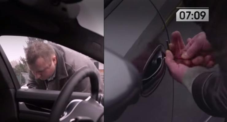 В Бельгии Porsche Panamera взломали за 10 секунд (видео)