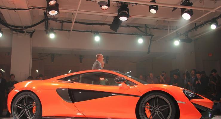 В Нью-Йорке официально дебютировал McLaren 570S Coupe (фото)