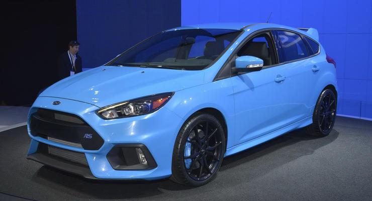 Компания Ford показала в Нью-Йорке флагманский Focus (фото)