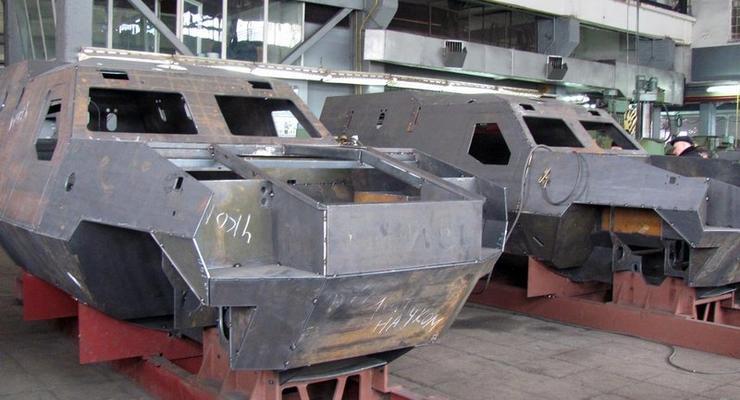 Во Львове запустили в серию броневик Дозор-Б