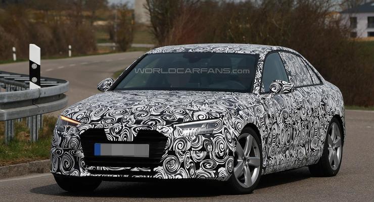 Новая Audi A4 станет больше и легче (фото)