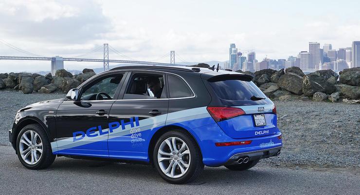 Кроссовер Audi SQ5 проехал 15 штатов США на автопилоте
