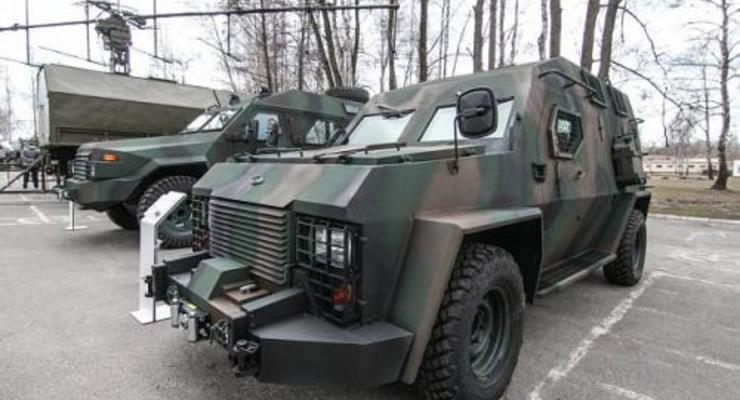 Корпорация Богдан представила обновленный бронеавтомобиль Барс