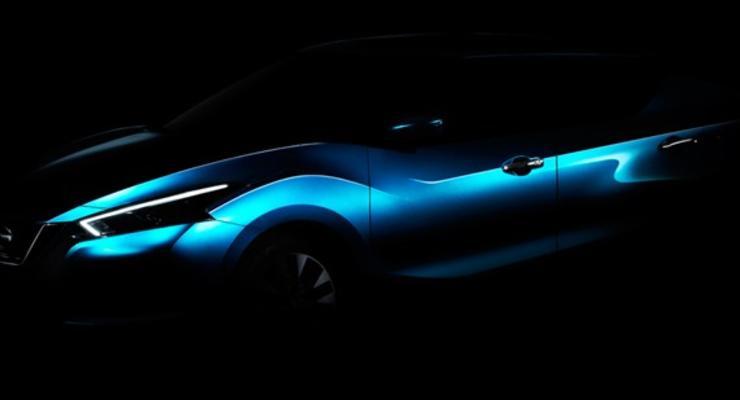 Nissan показал первое изображение нового седана