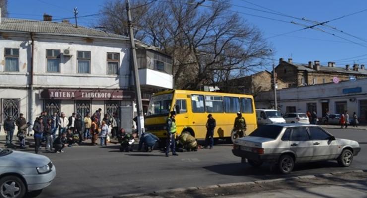 В Одессе маршрутка задавила женщину-пешехода