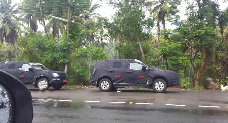 Обновленный Chevrolet Trailblazer вывели на тесты (фото)