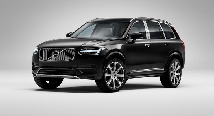 Компания Volvo показала свой самый роскошный внедорожник (фото)