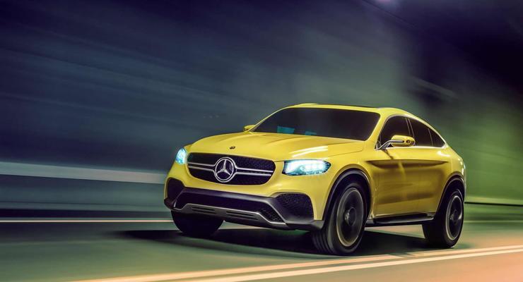 Mercedes-Benz показал концепт конкурента BMW X4 (фото)