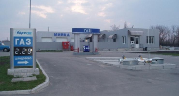 В Киеве запустили автогазовую заправку под ЛЭП