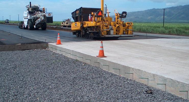 Первые проекты украинских бетонных дорог ожидают к концу июня