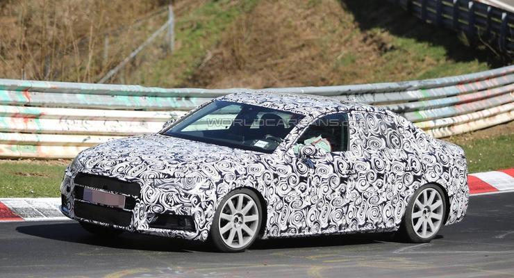 Компания Audi вывела на тесты новое поколение S4 (фото)