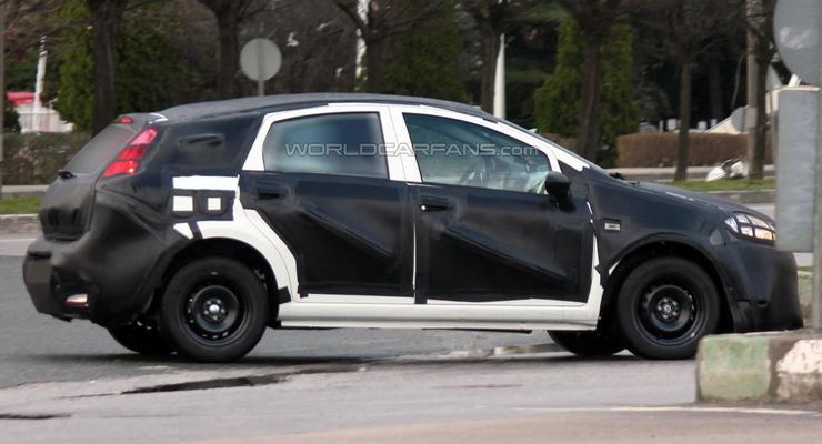 Хэтчбек Fiat Bravo заметили на тестах (фото)