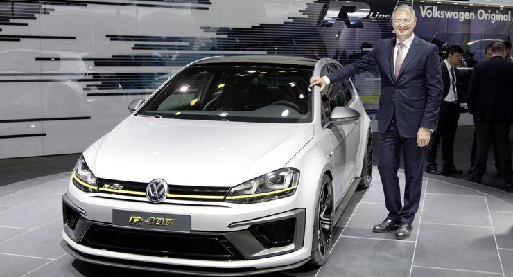 Volkswagen официально отправляет в серию Golf с 400-сильным мотором