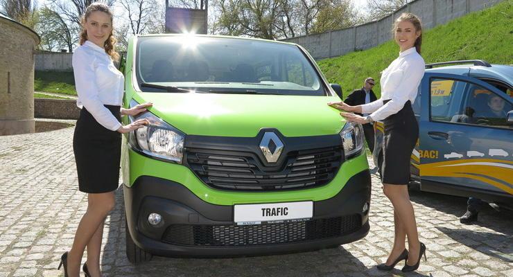 В Украине презентовали новый Renault Trafic (видео)