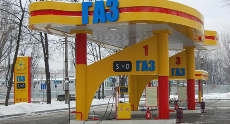 В Киеве закрыли пять автогазовых заправок