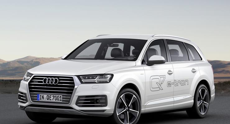 В Украине начали прием заказов на новый Audi Q7