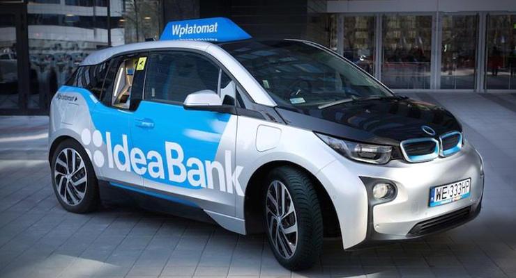 Электрокар BMW i3 превратили в передвижной банкомат (видео)