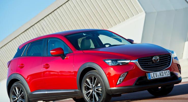 В Украине лидером продаж среди моделей стала Mazda CX-5