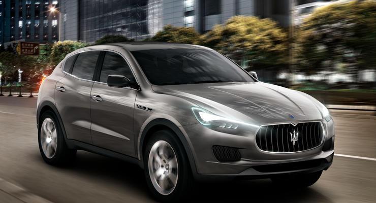 Первый кроссовер Maserati покажут на автосалоне в Детройте